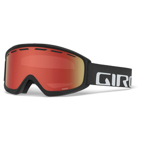 Giro Index Gafas, black/amber scarlet